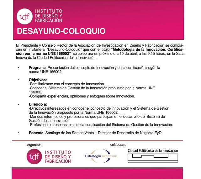 DESAYUNOS COLOQUIO
