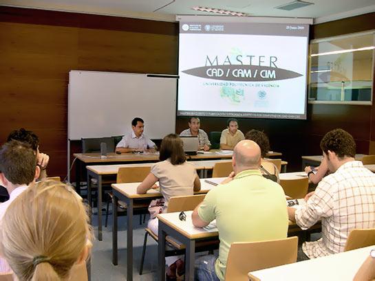 Presentación del Master CAD CAM
