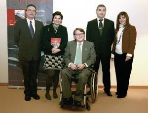 Rafael Olmos, Mª José Suárez, Francisco Vañó, Juan F. Dols y Efa Rimoldi.