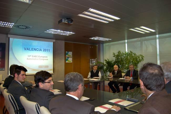 """Reunión del Comité de Honor del """"EAEC Congress 2011"""""""