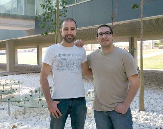 Daniel Tormo y Leopoldo Armesto