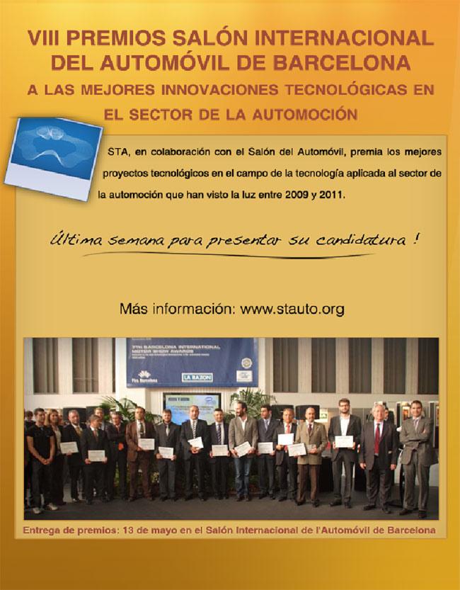 VIII PREMIOS DEL SALÓN INTERNACIONAL DEL AUTOMÓVIL DE BARCELONA