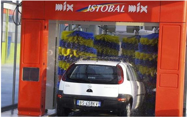 Tren de lavado Istobal