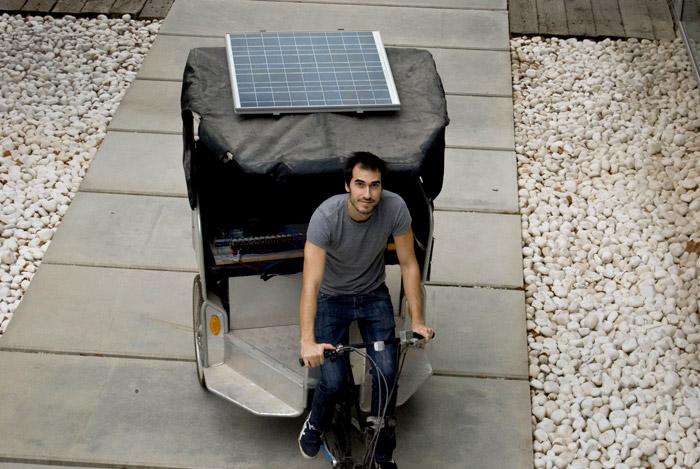 Sistema fotovoltaico en vehículos eléctricos