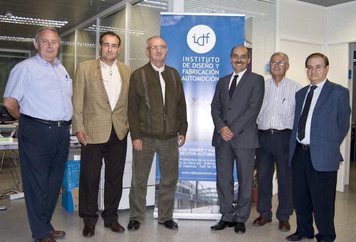 visita de D. Bernardo Pérez Castaño y D. Felipe Millán Costain