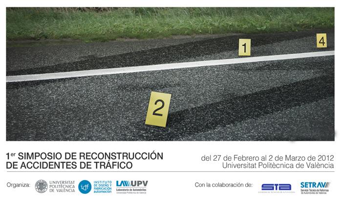 simposio Reconstrucción Accidentes Tráfico